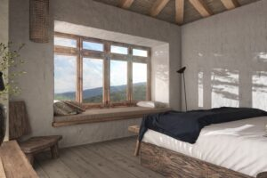 Hotel-Ruga-Vamvakous-Deluxe-Room-with-Mountain-View-and-fireplace