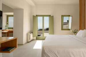 Villa Di Cappo is a new entry luxury residence in Akrotiri of Santorini island